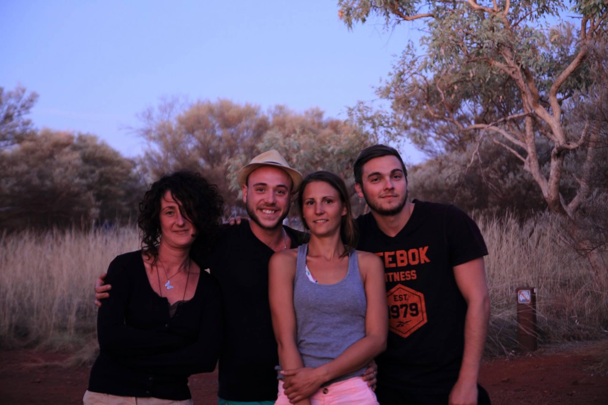 Charlotte, Benoit, Julie, Luc - French