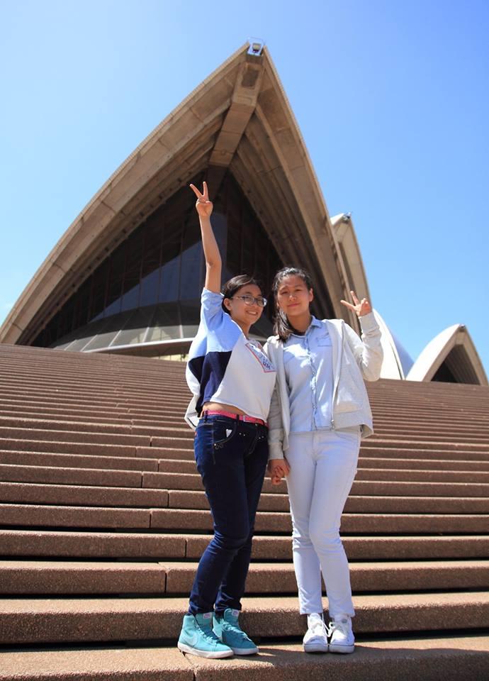 Vicky and Jessica - China