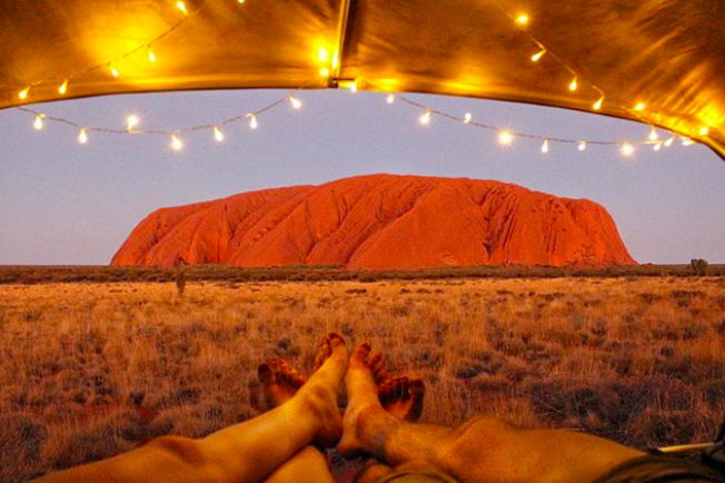 Uluru : Ayers Rock - © travelling_sands