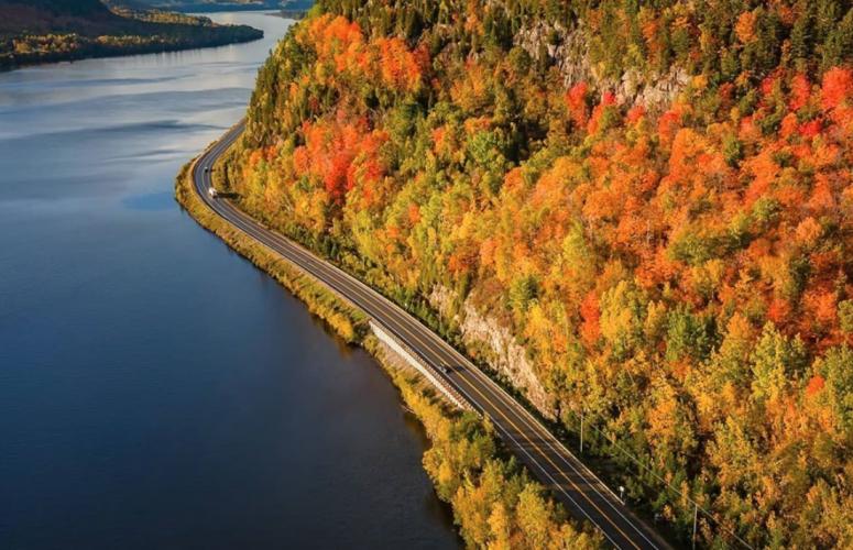 Route 155 - Mauricie - Québec