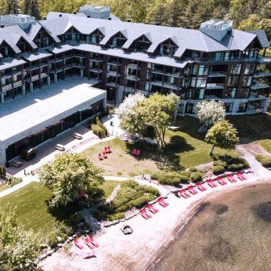 Entourage sur-le-Lac - Le French Explorer - Québec Hôtel