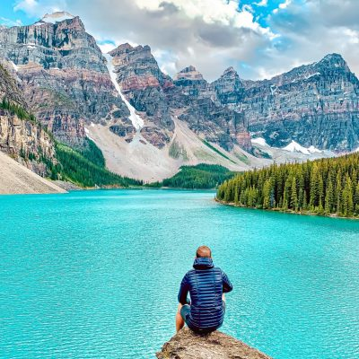 Moraine Lake- Le French Explorer